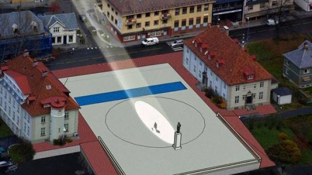 挪威小镇偷取阳光造人造太阳