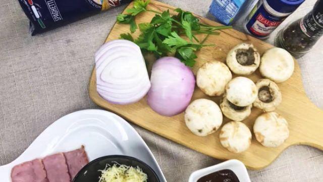 偷师意大利大厨的奶油蘑菇意大利面