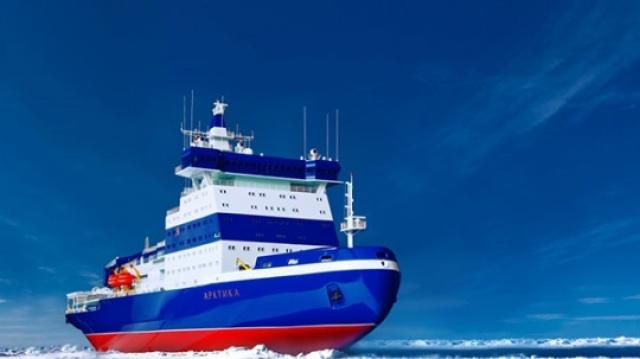 俄罗斯核动力破冰船,造价122亿!