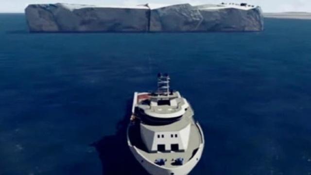 从南极拉回一座冰山,这是要干嘛?