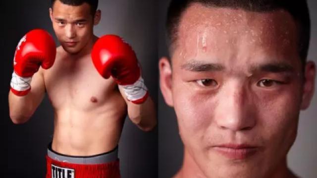 拳台上拼到头破血流的拳击手!