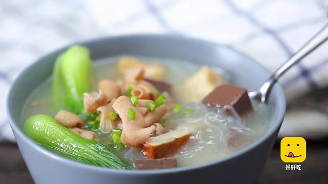 教你做最受南京人喜爱的鸭血粉丝汤