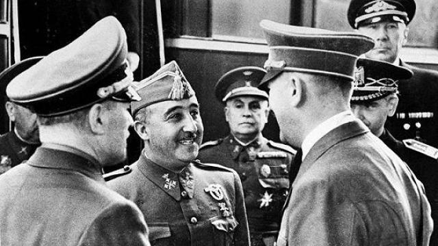 西班牙为什么不参加一战和二战?