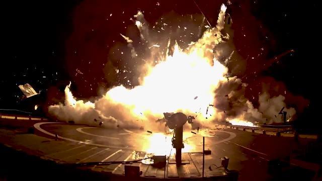 Space X火箭回收失败集锦