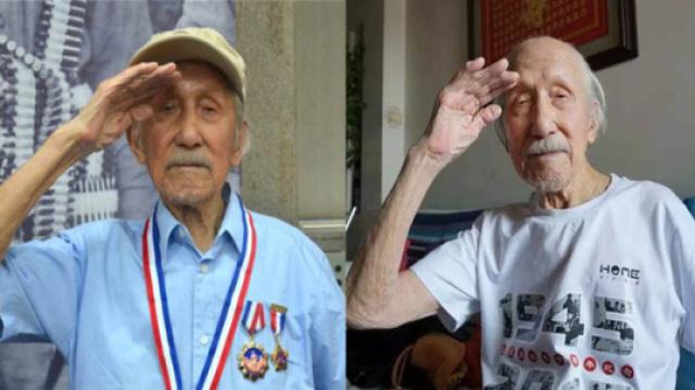 113岁抗战老兵,见证抗战全过程!