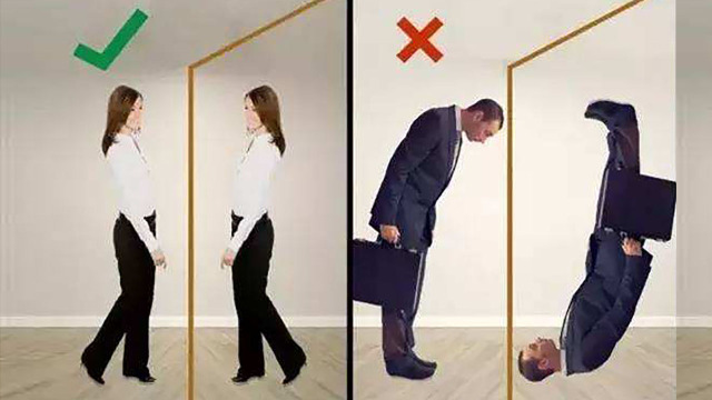 为什么照镜子的时候,是左右颠倒?