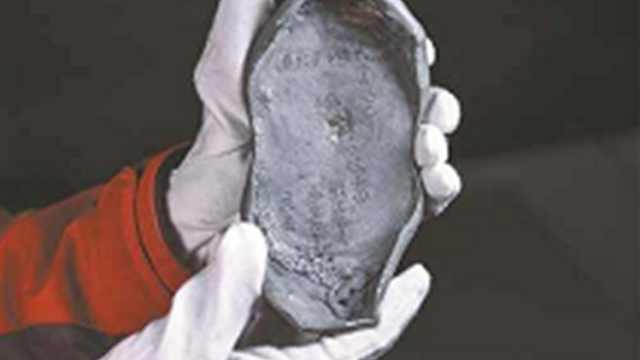 广东挖出古代银锭!疑是李自成的?
