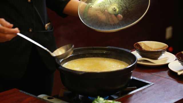 在广州花都的秋天,喝一碗美味的汤