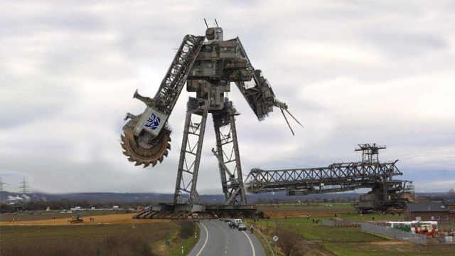 世界最大挖掘机bagger293