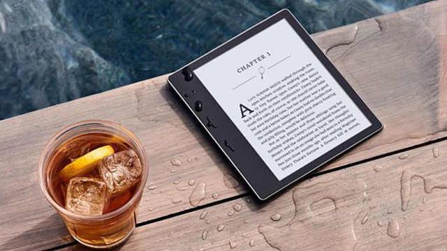 亚马逊推出防水的Kindle Oasis