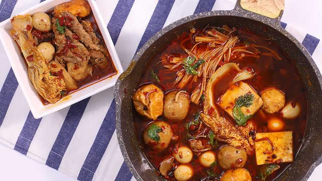 喜欢麻辣的人秋冬必吃的一道火锅!