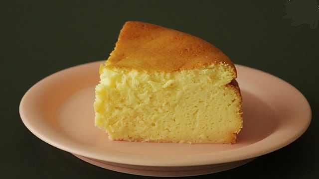 舒芙蕾芝士蛋糕,爱那一口细腻美好