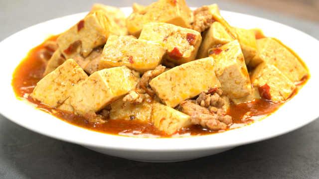120秒,学会做麻婆豆腐