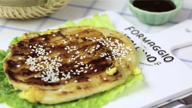 鸡蛋灌饼在家就能做,美味又方便!