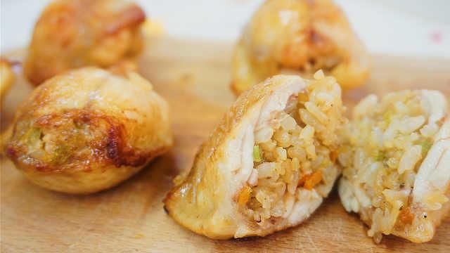 台湾十大美食之首,把饭香裹进鸡翅
