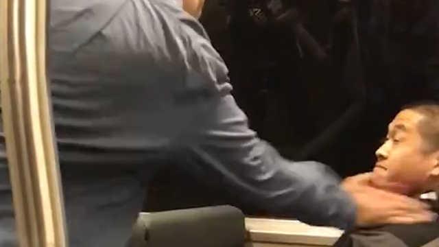 加州一男子在列车上辱骂亚裔并动手