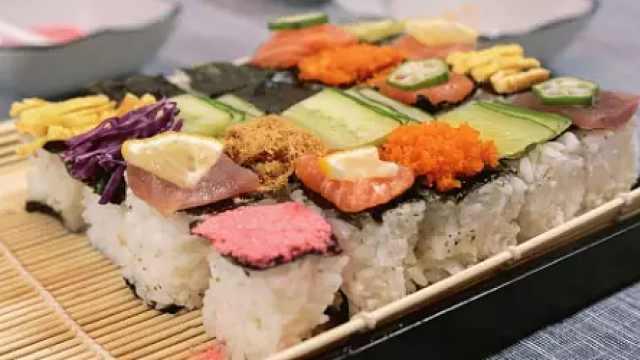 1分钟get日本最流行马赛克寿司