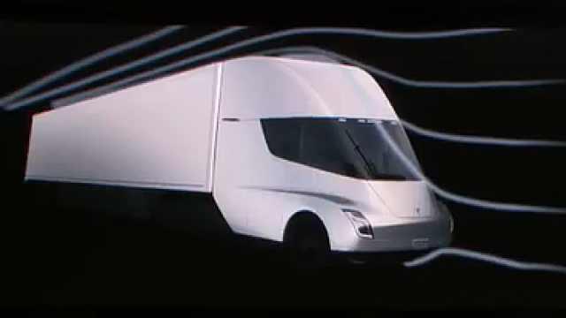 特斯拉卡车Semi 问世,比跑车还快
