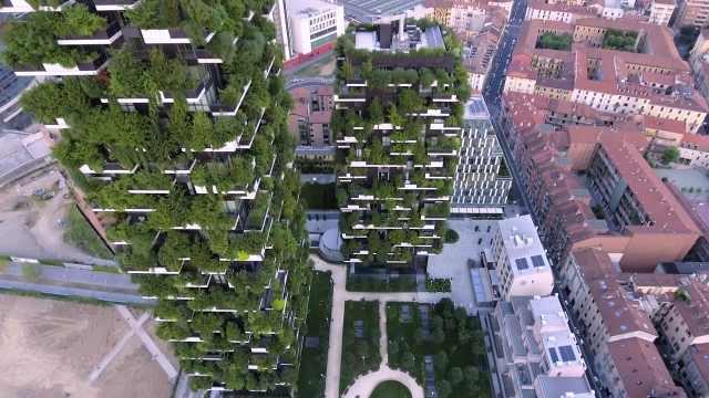 森林建筑:城市也可以鸟语花香!