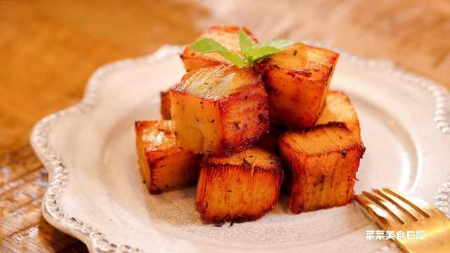 一层层叠起来的土豆,原来这么好吃
