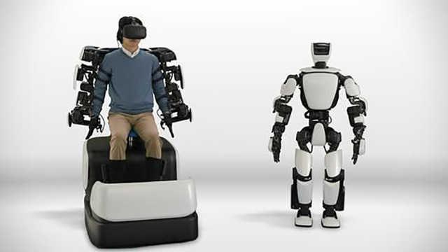 这台机器人可以模仿你的一举一动