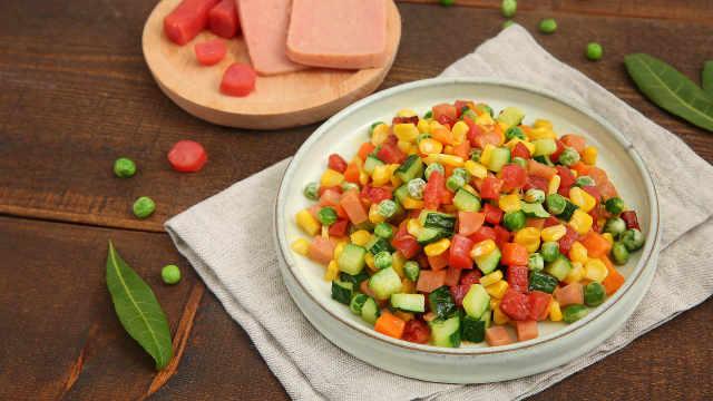 混搭时蔬营养美味,超简单杂蔬快炒