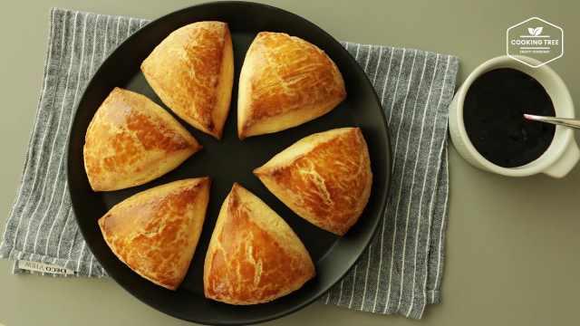 不需要任何技巧的奶油英式松饼