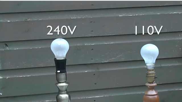 为什么美国电压110V而中国电压220V