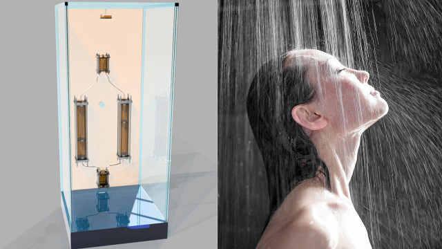 家里装这设备,洗澡水就能重复利用