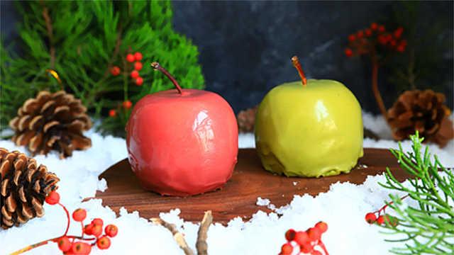 巧克力慕斯圣诞果,香醇一触即发