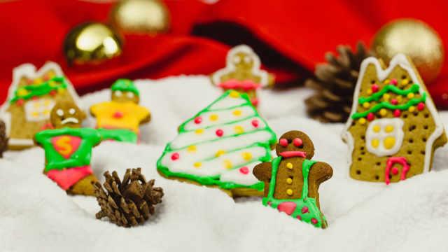 传说中的圣诞美食,姜饼人!