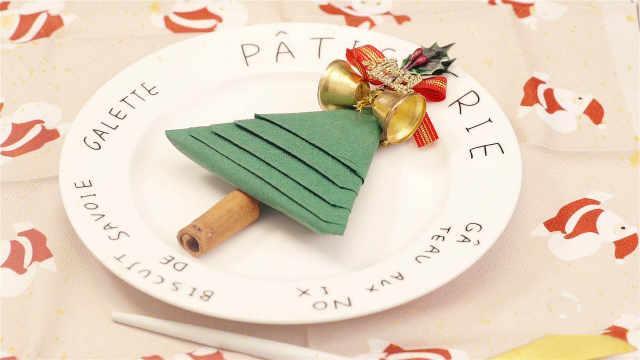 让人眼前一亮的圣诞节餐前摆盘方式
