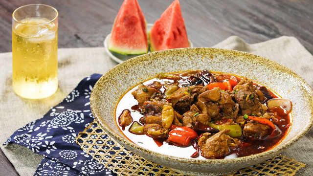 泉水鸡,据说是重庆最辣的一只鸡!