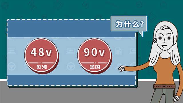 48V和90V哪个更省油?