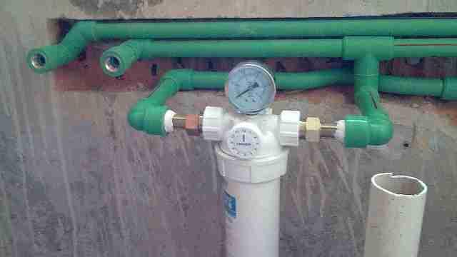 水管验收的关键就是打压试验
