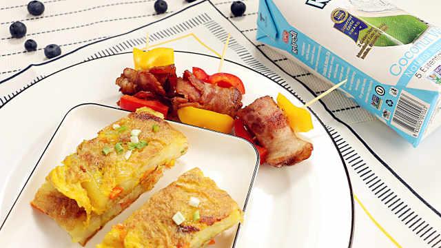 多彩鸡蛋饼,营养美味好胃口!