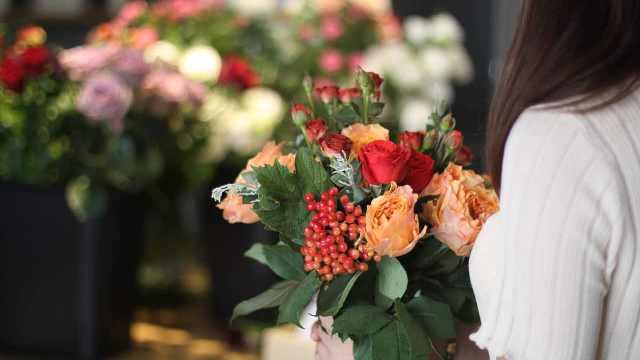 我能想到最浪漫的事是做一名花艺师
