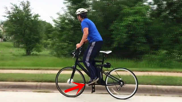上下踩的自行车,时速可达80公里