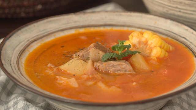 开胃营养的罗宋汤,关键是一看就会