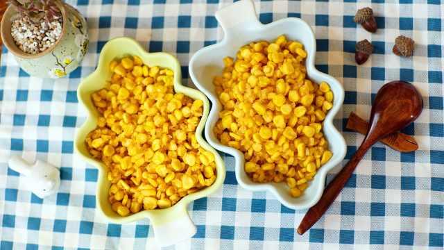 咸蛋黄搭配玉米粒,美味挡不住~