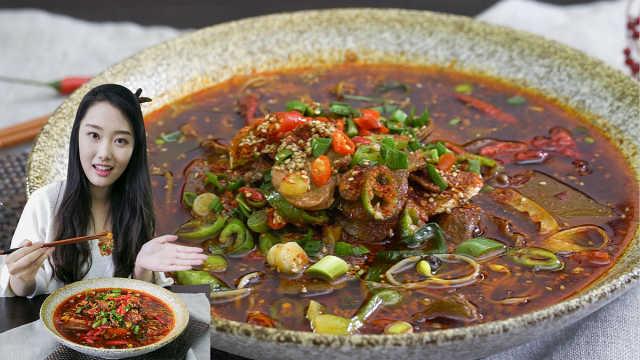 1分钟学会经典川菜水煮肉片