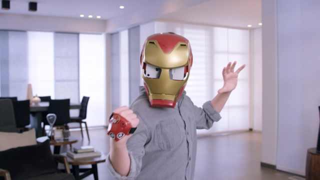 孩之宝推出钢铁侠AR头盔