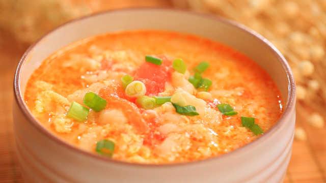 10亿人都爱喝的番茄鸡蛋疙瘩汤