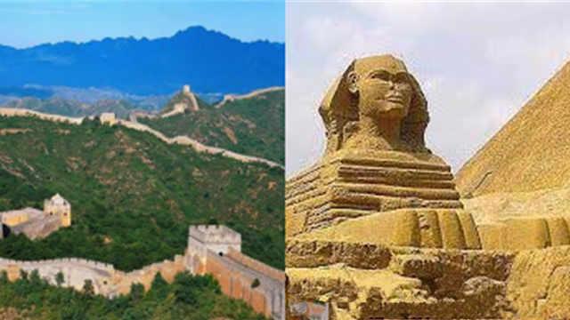 金字塔和长城哪个建造难度更大