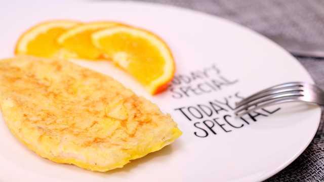 两步搞定美味的橙香鸡排