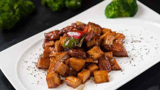牛肉杏鲍菇,简单美味