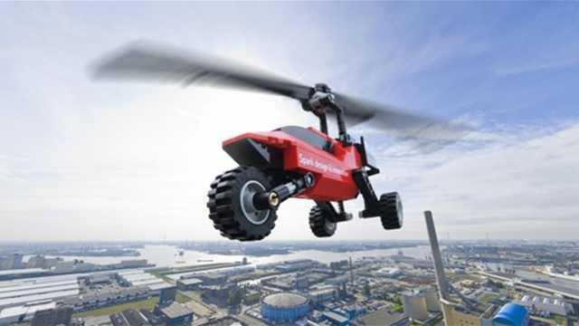 飞行汽车开售,速度超过180km/h