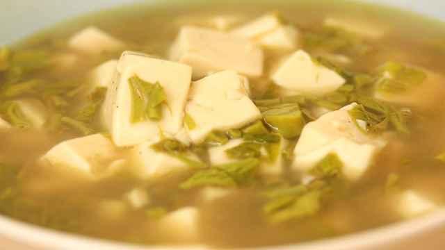 香椿豆腐羹,口感独特,香味浓郁