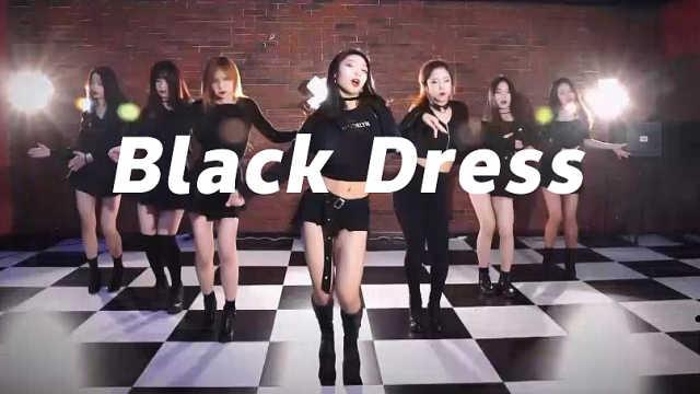 妩媚撩人!《Black Dress》翻跳