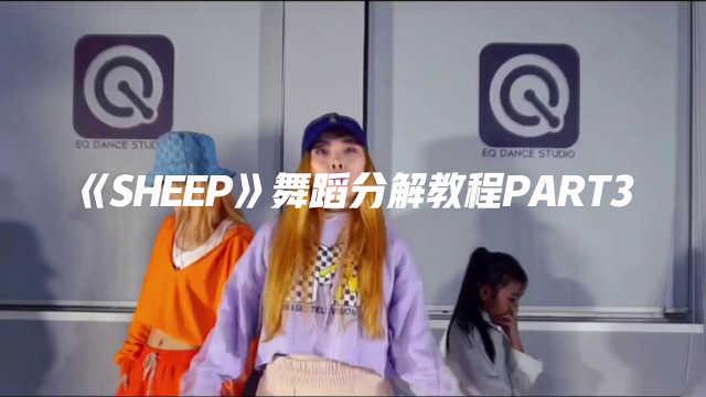 《Sheep》舞蹈镜面分解教程part3